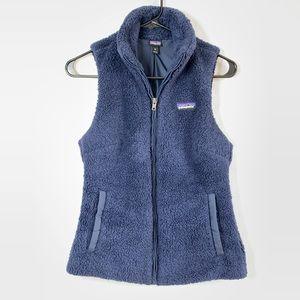 Patagonia fleece zip up vest size xs